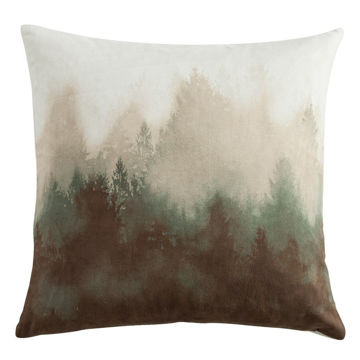 Picture of Forest Pine Watermark Tree Pillow