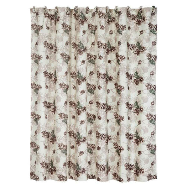 Picture of Forest Pines Shower Curtain