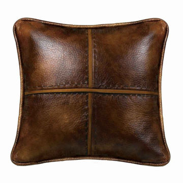 Picture of Brighton Faux Leather Pillow