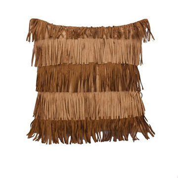Picture of Alternating Fringe Pillow