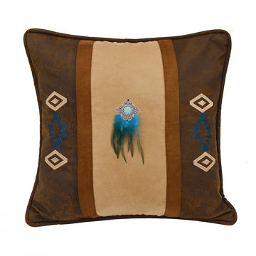 Picture of Southwest Faux Suede Pillow