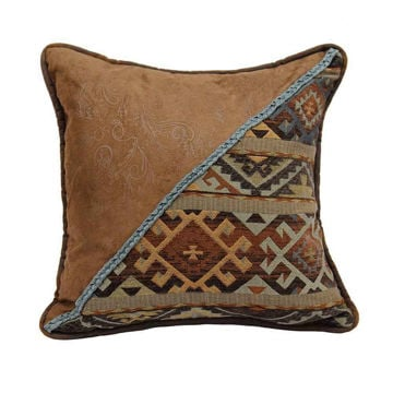 Picture of Southwestern Velvet Studs Pillow