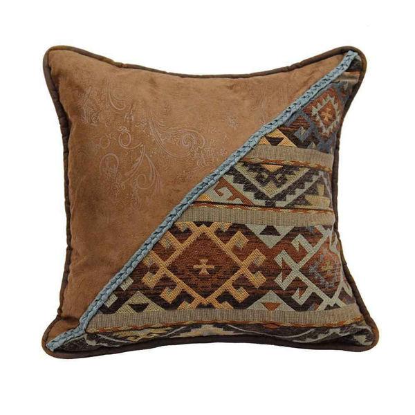 Picture of Southwestern Velvet Studs Pillow