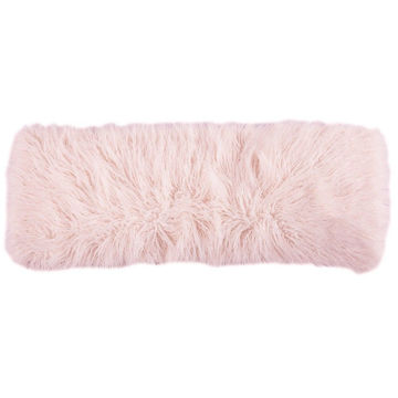 Picture of Mongolian Fur Pillow - Blush
