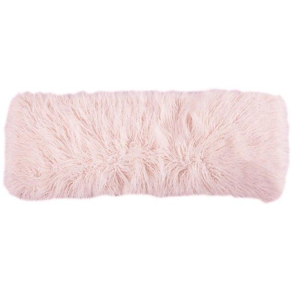 Picture of Mongolian Fur Pillow - Blush