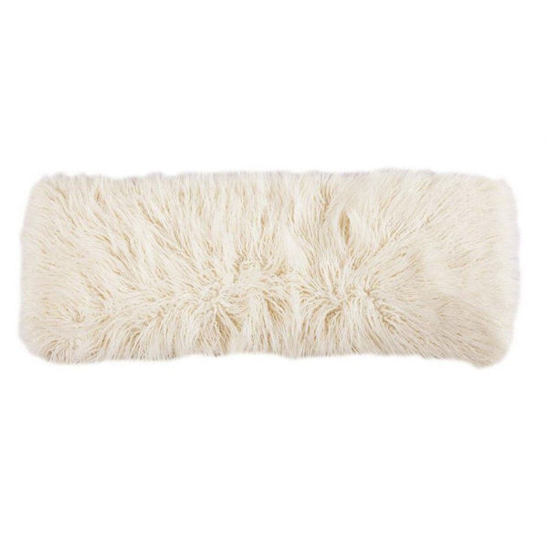 Picture of Mongolian Fur Pillow - Cream