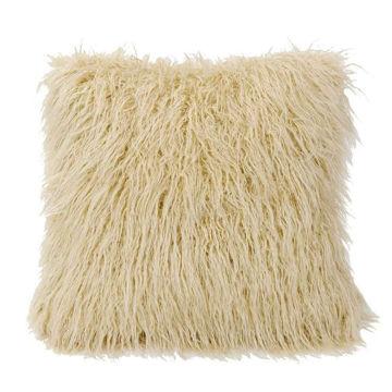 Picture of Mongolian Faux Fur Pillow - Cream