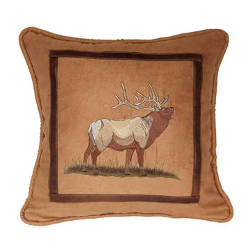 Picture of Lodge Pillow - Elk