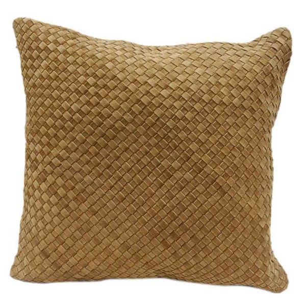 Picture of Woven Suede Square Pillow