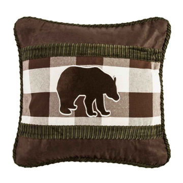 Picture of Embroidery Bear Pillow