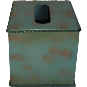 Picture of Turquoise Tissue Box