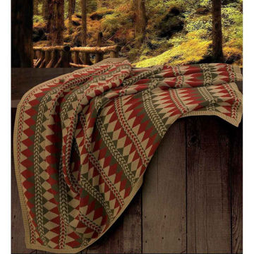 Picture of Wilderness Ridge Knitted Throw