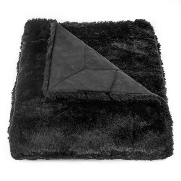 Picture of Arctic Bear Oversized Throw - Black