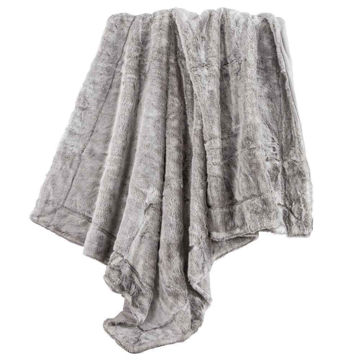 Picture of Arctic Bear Oversized Throw - Gray