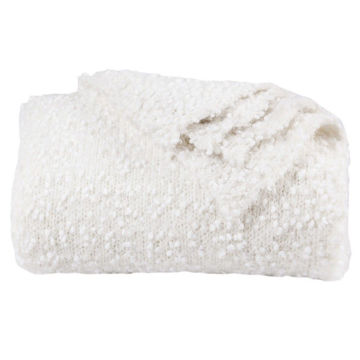 Picture of Pebble Creek Throw - White