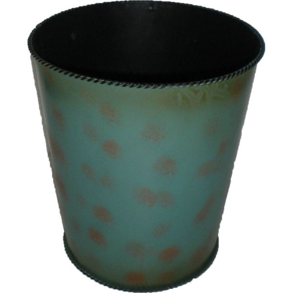Picture of Turquoise Waste Basket
