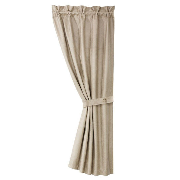 Picture of Silverado Faux Leather Curtain