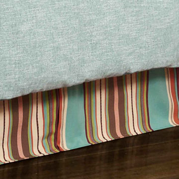 Picture of Serape Bedskirt - Queen