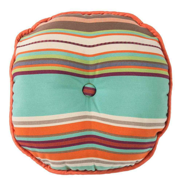 Picture of Serape Round Serape Pillow