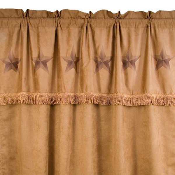 Picture of Rustic Luxury Star Curtain