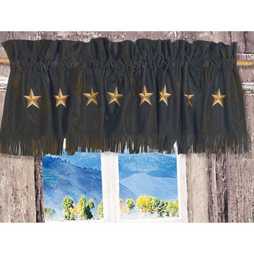 Picture of Laredo Laredo Valance - Chocolate