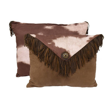 Picture of Faux Cowhide Envelope Pillow