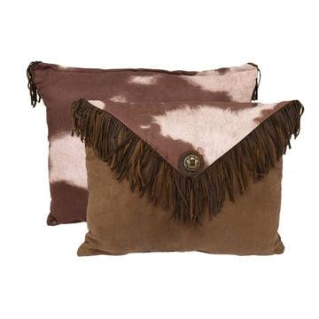 Picture of Faux Cowhide Envelope Pillow