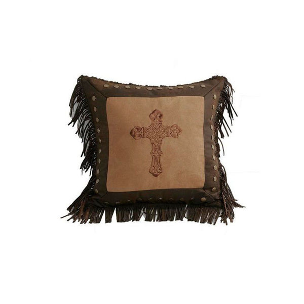 Picture of Western Cross Square Pillow