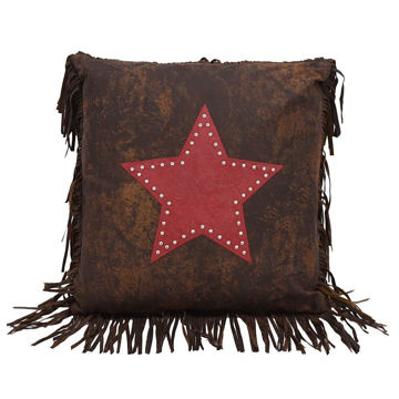 Picture of Cheyenne Star Pillow - Red