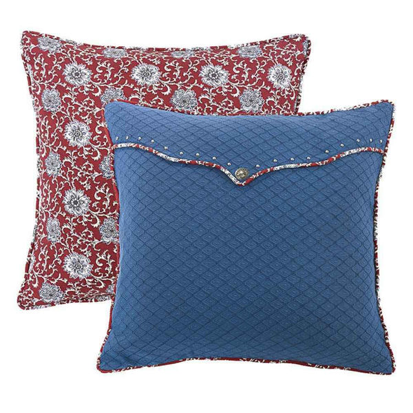 Picture of Red Envelope Euro Sham
