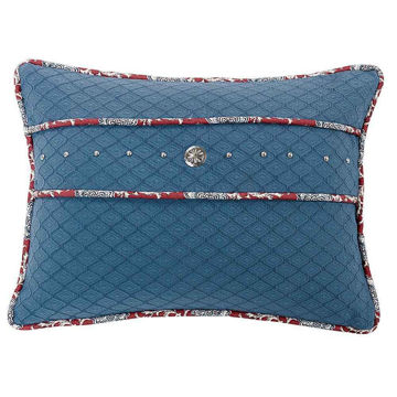 Picture of Blue Concho Pillow