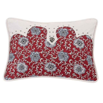 Picture of Oblong Floral Pillow