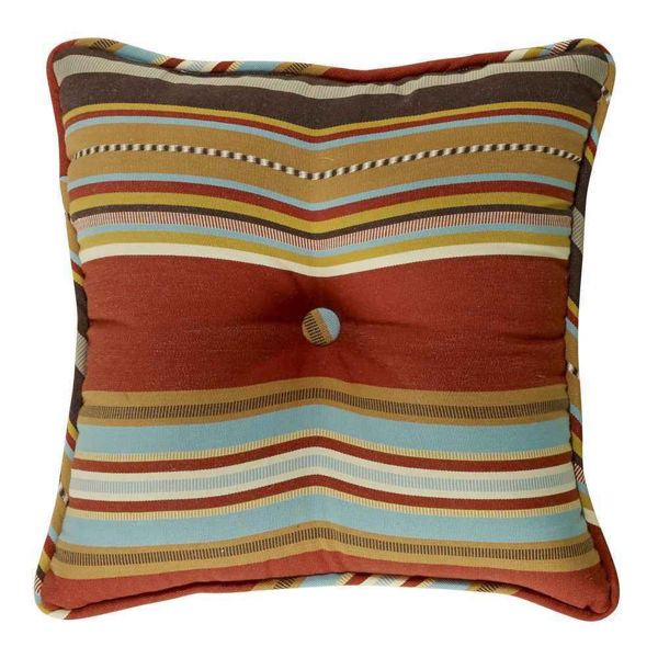 Picture of Calhoun Striped Tufted Pillow