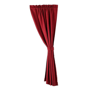 Picture of Ruidoso Curtain - Red