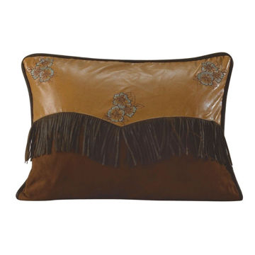 Picture of Las Cruces Embroidered Floral Pillow