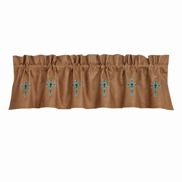Picture of Las Cruces II Embroidered Valance