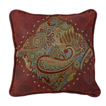 Picture of San Angelo Paisley Print Pillow