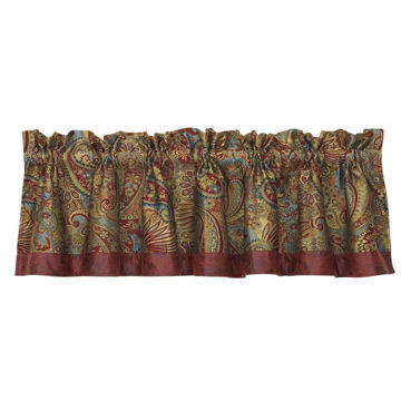 Picture of San Angelo Paisley Valance