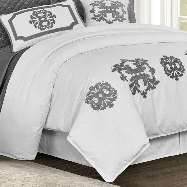 Picture of Madison Duvet Cover - Gray