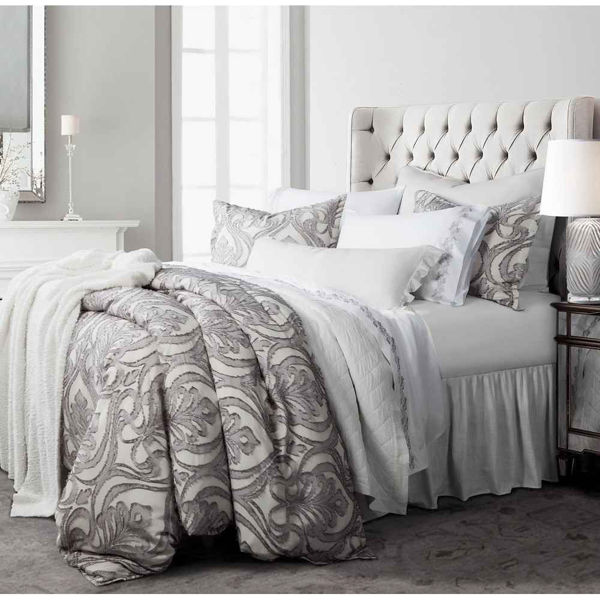 Picture of Nicole Damask 3-Piece Duvet Set