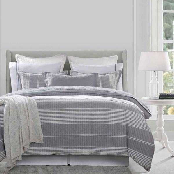 Picture of Lane 3-Piece Stripe Duvet Set