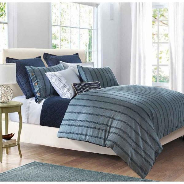 Picture of Harper 3-Piece Stripe Duvet Set