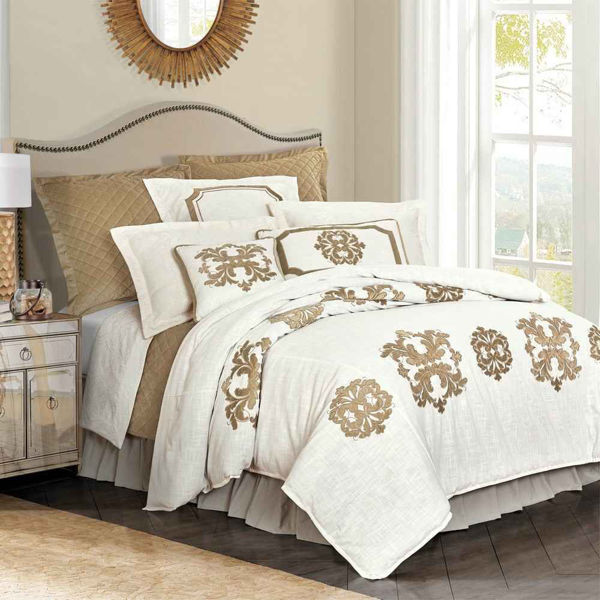 Picture of Madison 6-Piece Duvet Set - Oatmeal