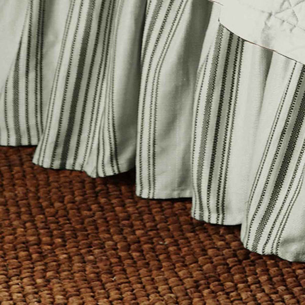 Picture of Prescott Stripe Bedskirt - Taupe