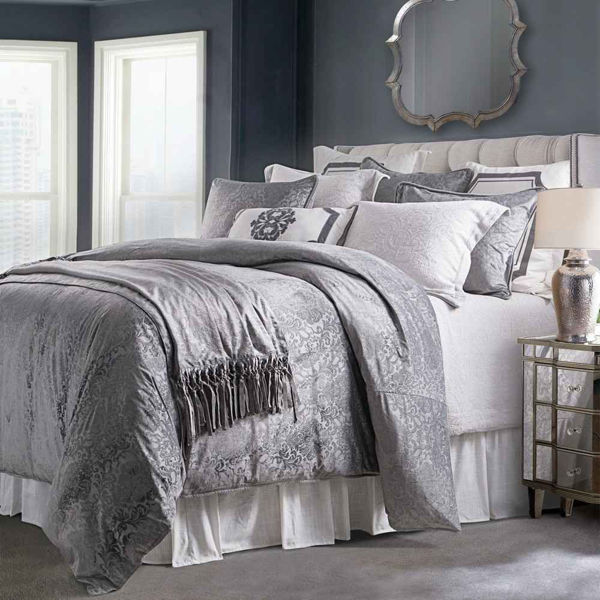 Picture of Diane 3-Piece Comforter Set - Gray