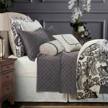 Picture of Alexandria Duvet Set - Gray