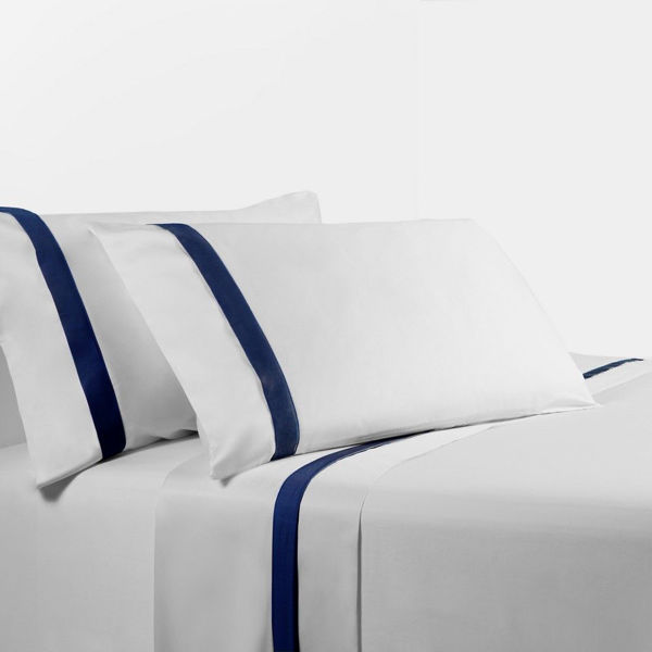 Picture of Navy Sheet Set