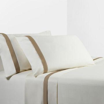 Picture of Cream/Tan Sheet Set