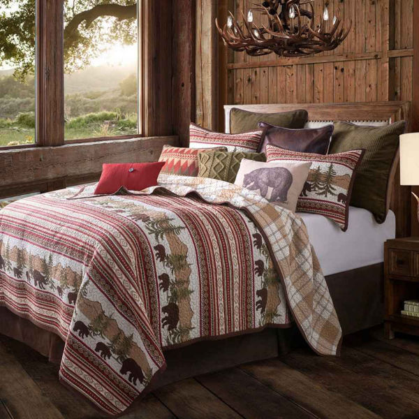 Picture of Bear 3-Piece Quilt Set
