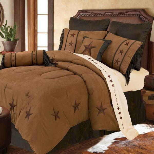Picture of Laredo 6-Piece Comforter Set - Tan